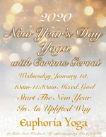 NEW YEARSDAY YOGA WITH CORINNE